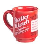 Heisser Hirsch Glühwein Tasse