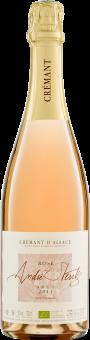 Crémant d'Alsace Rosé AOP 2015 Stentz Bio