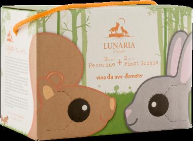 Pecorino-Pinot Grigio 2018 Bag in Box 2x2l Lunaria Biowein