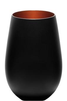 Olympic Power Schwarz-Bronze Trinkglas Stölzle (6er Karton)
