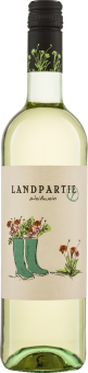 Landparty Weiß Biowein