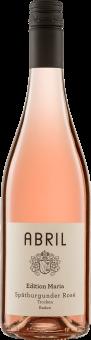 Spätburgunder Rosé Edition Maria QW 2018 Abril Biowein