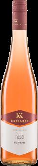 Rosé Gutswein feinherb QW 2019 Knobloch Biowein
