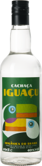 Iguaçu Bio Fair Trade Cachaça 70cl  Bio
