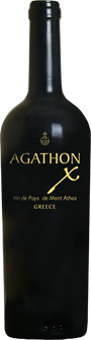 Agathon X Mount Athos VdPays 2014 Tsantali Biowein